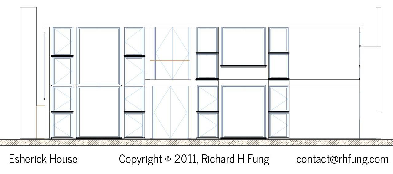 Floor Elevations House Plans : Richard h fung esherick house