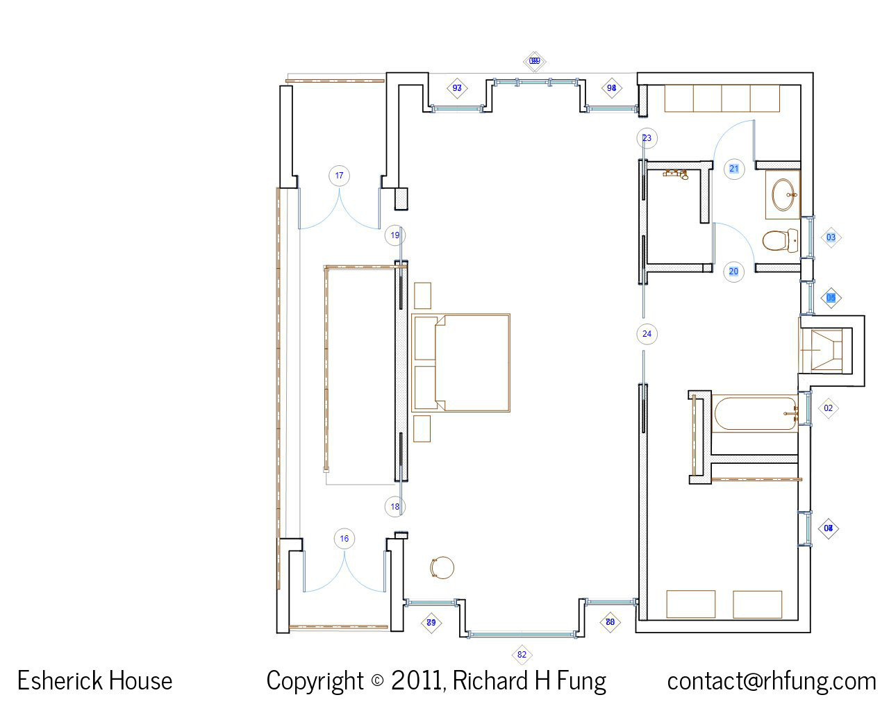 Esherick House Site Plan Images
