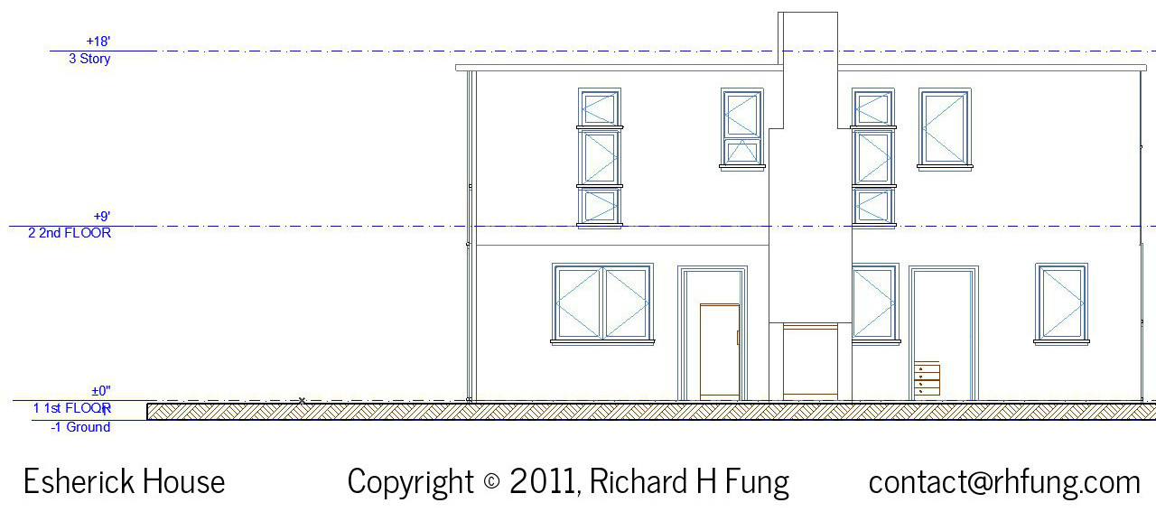 Richard H Fung Esherick House