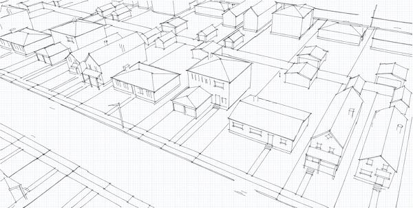 Esherick house sketchup model